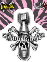 Sticker St-JA581 Bombshell