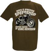 King Kerosin T-Shirt braun - Devils Kingdom