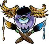 Von Franco Sticker - Beatnik Eye