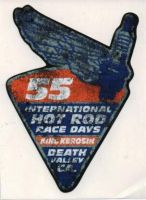 King Kerosin Sticker ST-IHR 55 / blue