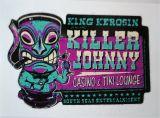 King Kerosin Sticker / Killer Johnny