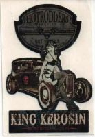 King Kerosin Sticker ST-HotRodders