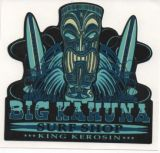 King Kerosin Sticker - Big Kahuna