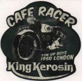 King Kerosin Sticker ST-RCR / Cafe Racer