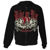 King Kerosin Standard Hoodiejacket - Ride or Die