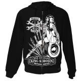 King Kerosin Standard Hoodiejacket - Wrench Girl / Shj-WRG