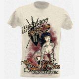 King Kerosin Slub Jersey T-Shirt  Tjm2-RTW / Restless & Wild