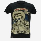 King Kerosin Slub Jersey T-Shirt  Tjm - JAD / The Rebel