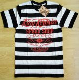 King Kerosin Slub Jersey T-Shirt - Race Until Death