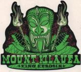 King Kerosin Sticker / Mount Kilauea