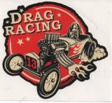 King Kerosin Sticker ST-EDR / Drag Racing