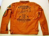 Vintage-Canvas-Jacket rust brown - Mechanic Crew 1959