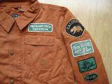 Vintage-Canvas-Jacket rust brown - Mechanic Crew 1959