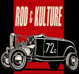 Zombie Race Sticker  St - Zom.26 / Rod & Kulture Roadster