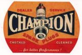 Race Sticker - Champion