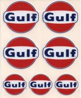 Race Sticker - Gulf set.