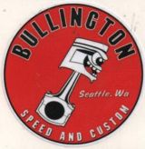 Race Sticker - Bullington Speed and Custom