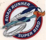 Vintage Race Sticker - Road Runner Super Bird