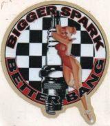 Race Sticker St-Bigger Spark BB
