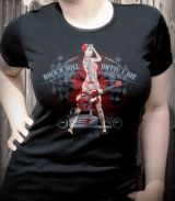Rumble59 Girls T-Shirt / Rock`n`Roll Until I Die