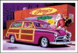 X-Mas Cards Custom Cars  X - 707