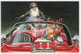 X-Mas Cards Custom Cars  X - 629