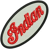 Patch - Indian oval