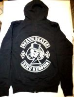 King Kerosin Bestickte Hoodie Jackets - Death Dealer - Limited Edition