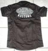 KING KEROSIN BESTICKTE RETRO Shirt / Speed Shop Kustom
