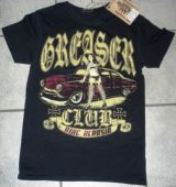 King Kerosin Vintage T-Shirt - Greaser Club