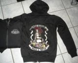 King Kerosin Bestickte Hoodie Jackets - Booze & Tattoo - Limited Edition