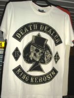 King Kerosin Regular T-Shirt offwhite / Death Dealer