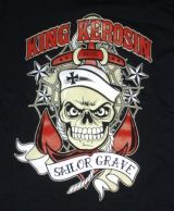 King Kerosin Vintage T-Shirt - Sailor Grave