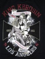 King Kerosin T-Shirt - Kustom World Speedshop