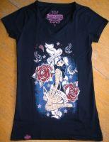 Queen Kerosin V-Neck T-Shirt Tvg-QSL / Home Ward Stay True