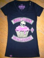 Queen Kerosin V-Neck T-Shirt Tvg-QPO / Sweet Poison