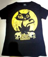 King Kerosin Vintage T-Shirt Tgv-QKY / Moonlight Cat