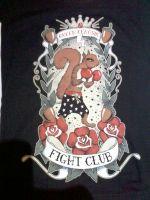 Queen Kerosin Girls T-Shirt Tg-QFC / Fight Club