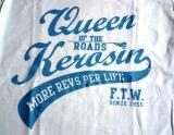 Queen Kerosin Longshirt / Nst3 -  Q55 - weiss