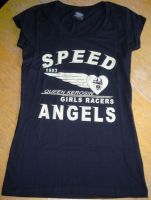 Queen Kerosin Longshirt / Nst - QGA /Speed Angels-schwarz