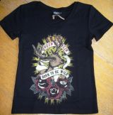 Queen Kerosin Girls T-Shirt Tg-QBW / Born Wiild