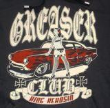King Kerosin Standard Hoodie  HS-GRC / Greaser