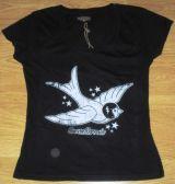 Queen Kerosin Girls T-Shirt Tg-Vintage Schwalbe