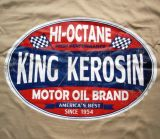 King Kerosin Regular T-Shirt / HI Octane - beige