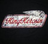 King Kerosin Regular T-Shirt / Indian - black