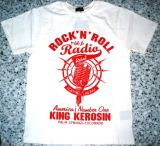 King Kerosin Regular T-Shirt white / Rock`n`Roll Radio