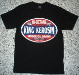 King Kerosin Regular T-Shirt / HI Octane - black