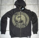 King Kerosin Standard Hoodiejacket - Oldschool Rodder