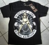 King Kerosin Regular T-Shirt / Wrench Girl 2014