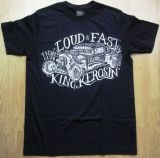 King Kerosin Regular T-Shirt / Stay Loud & Fast - schwarz